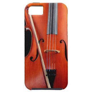 Violoncelo clásico en negro iPhone 5 Case-Mate fundas