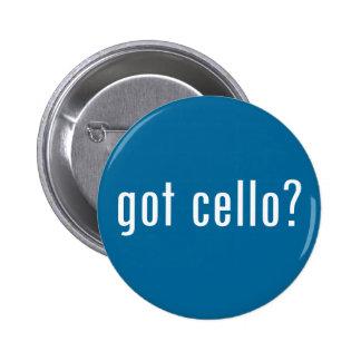 ¿violoncelo conseguido? pin redondo de 2 pulgadas