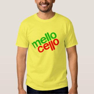violoncelo del mello (hombres) camisas