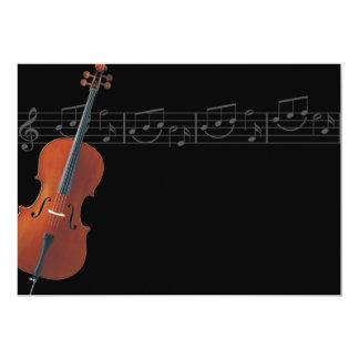 Violoncelo - invitación de la música