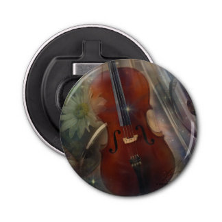 Violoncelo, Oboe y flauta Abrebotellas Redondo