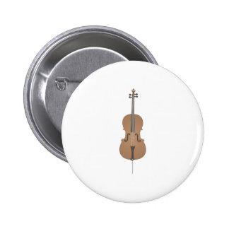 violoncelo pin redondo de 2 pulgadas