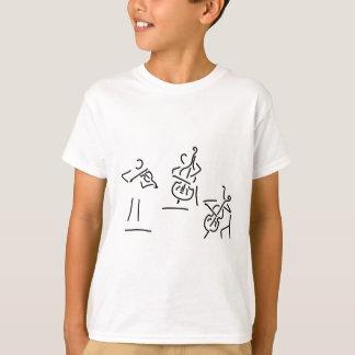 violonist cellistin streicher against bass T-Shirt