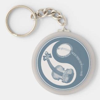 Violyin-Twang Basic Round Button Keychain
