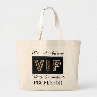 VIP 2 Totes for Teachers or Anyone Jumbo Tote Bag