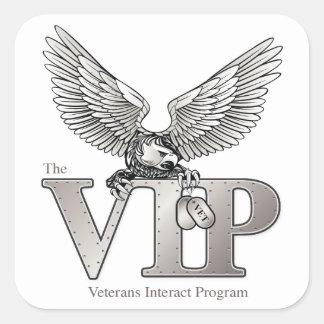 "VIP 3"" Stickers"
