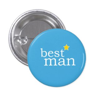 VIP Button | Bestman Blue