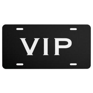 VIP car license plate | Exclusive 3 letter design