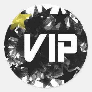 VIP CLASSIC ROUND STICKER