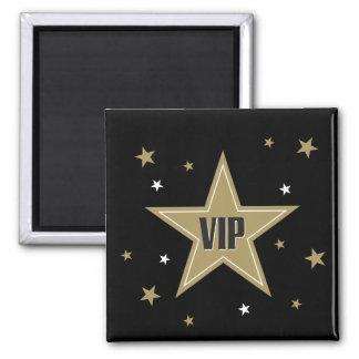 VIP con las estrellas Imán Cuadrado