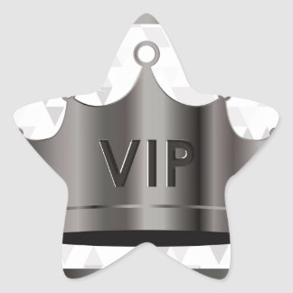 vip design star sticker