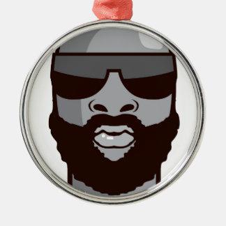 VIP dude Metal Ornament