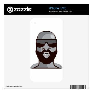 VIP dude Skin For iPhone 4