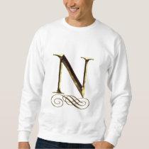 """VIP Gold """"N"""" monogram Sweatshirt"""