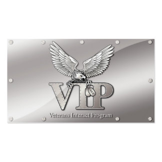 VIP Information Cards Double-Sided Standard Business Cards (Pack Of 100)