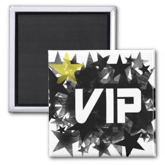 VIP 2 INCH SQUARE MAGNET