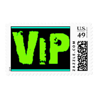 vip neon green music dance party fun clubs exclusi stamp