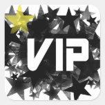 VIP PEGATINA CUADRADA