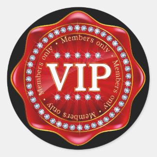VIP - Pegatina real elegante - SRF