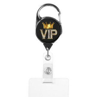 VIP - Person, Parent, Pet, You Name It Badge Holder