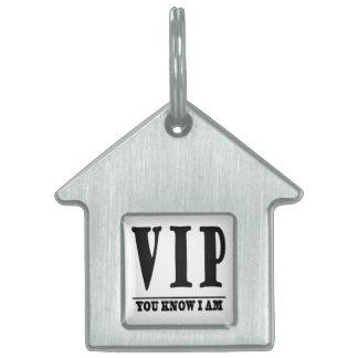 VIP PET ID TAG