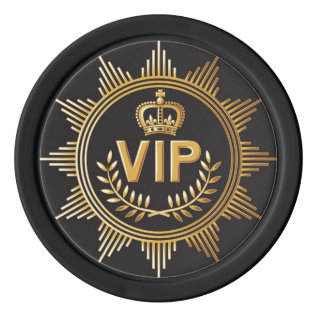Vip Poker Chip at Zazzle