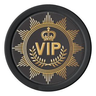 VIP Poker Chip Poker Chips Set at Zazzle