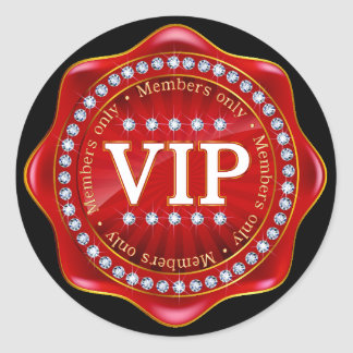 VIP - Royally Elegant Sticker - SRF