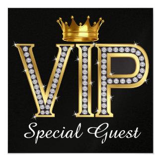 VIP Special Guest - SRF 5.25x5.25 Square Paper Invitation Card
