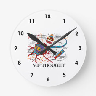 VIP Thought (Neuron / Synapse) Round Clock