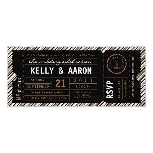 brown paper ticket