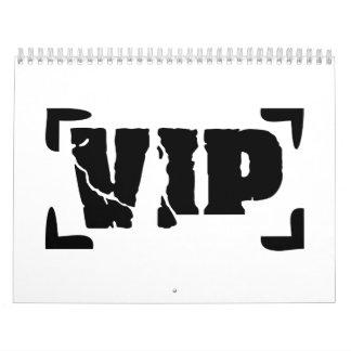 VIP very important Person Calendar