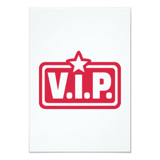 VIP very important Person Card