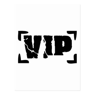 VIP very important Person Postcard