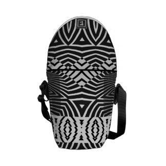 Viper #6 - Black & White Aztec Bag