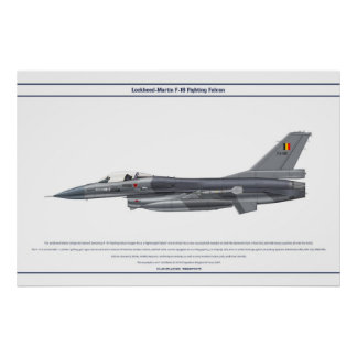 Viper Belgium 349 Sqn Poster