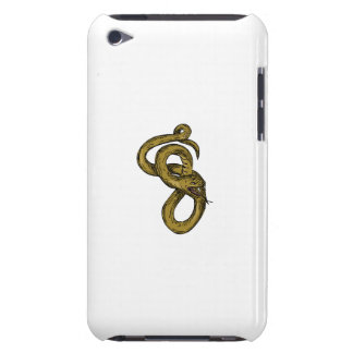 Viper Coiled Ready To Pounce Drawing Case-Mate iPod Touch Case