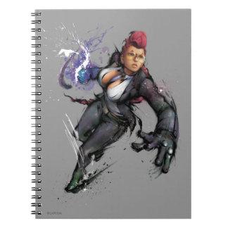 Viper Dash Spiral Notebook