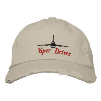 Viper Golf Hat Embroidered Baseball Cap