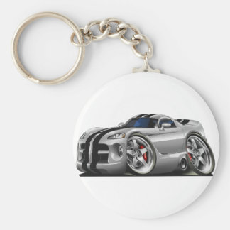 Viper GTS Grey/Blk Keychain