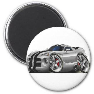 Viper GTS Grey/Blk Refrigerator Magnets