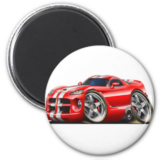 Viper GTS Red/Wht Magnet
