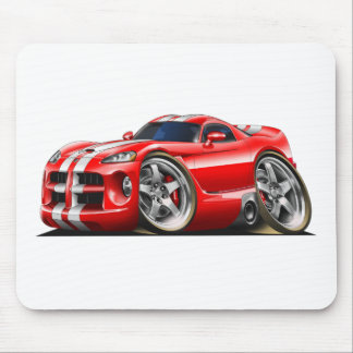 Viper GTS Red/Wht Mouse Pad