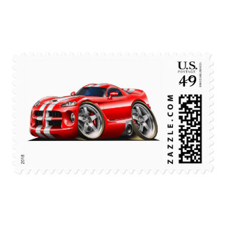 Viper GTS Red/Wht Postage