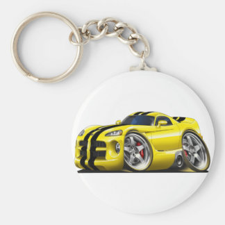 Viper GTS Yel/Blk Keychain