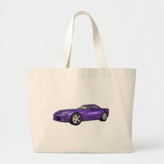 Viper Hard-Top Muscle Car Purple Finish Canvas Bag
