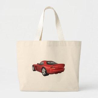 Viper Hard-Top Muscle Car: Red Finish Bag