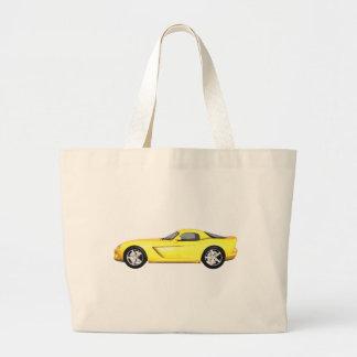 Viper Hard-Top Muscle Car Yellow Finish Bags