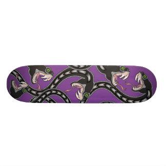 Viper Pit - Purple Skate Deck