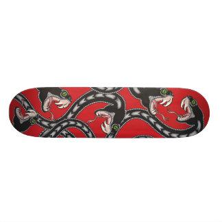 Viper Pit - Red Custom Skate Board